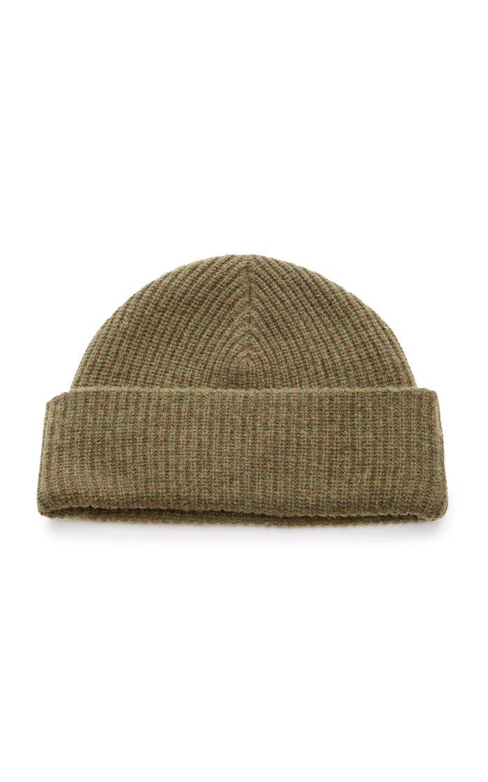 Wool-Blend Beanie