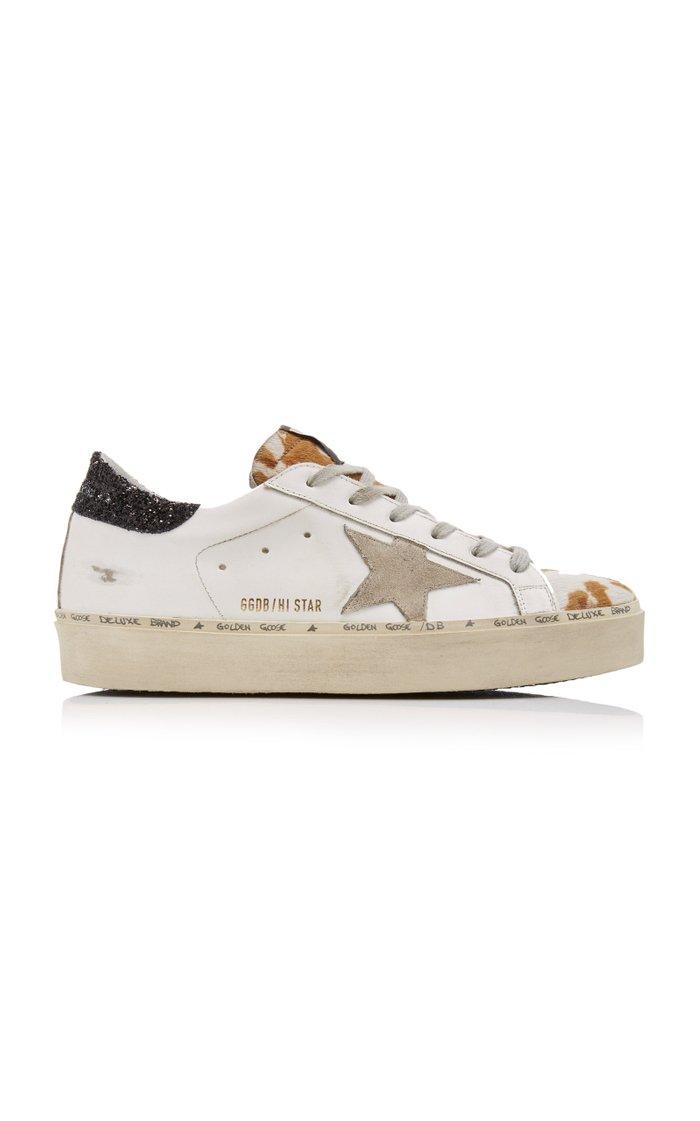 Hi-Star Low-Top Leather Sneakers