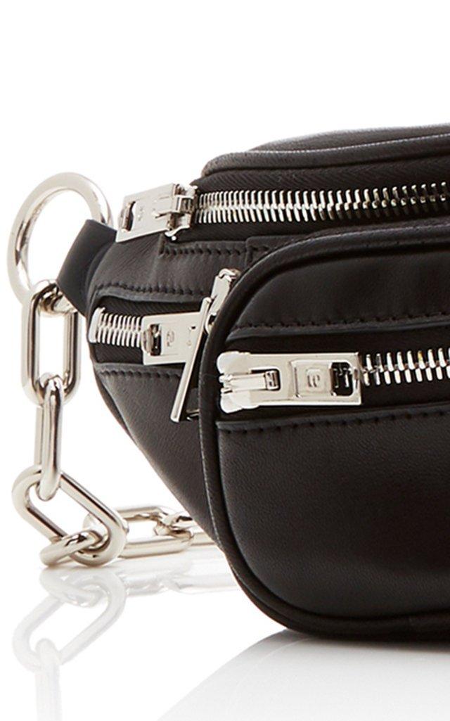 Attica Double Mini Leather Fanny Pack