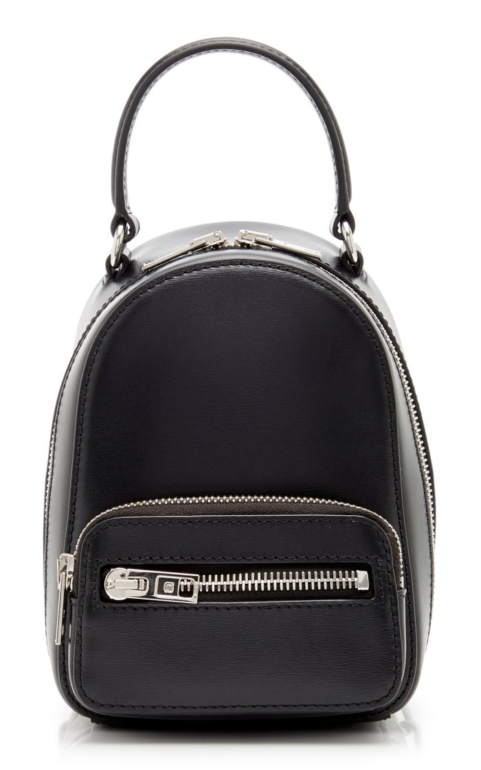 Attica Mini Leather Backpack