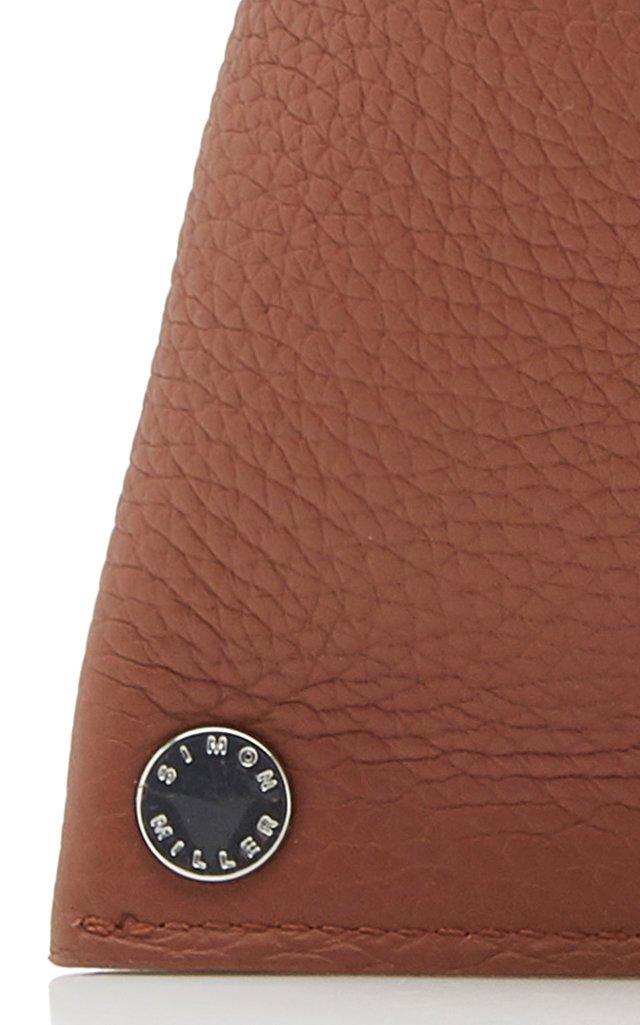 Slug Leather Clutch