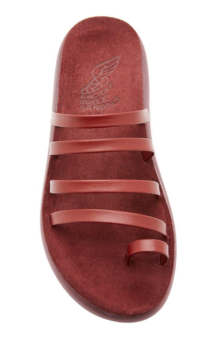 Niki Comfort Leather Slides