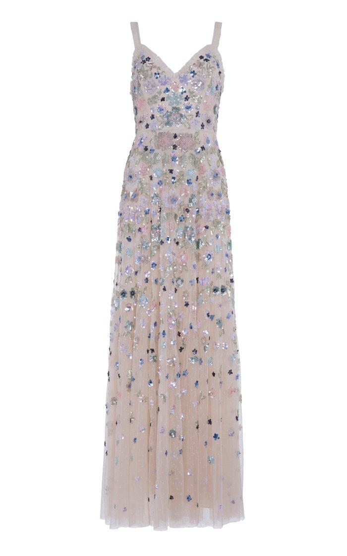 Wildflower Sequin Maxi Dress
