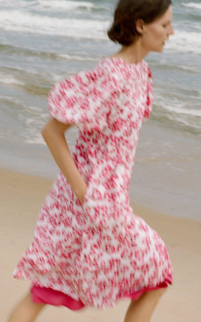Aster Printed Dress