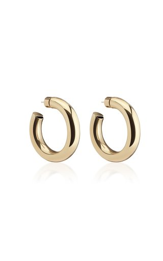 Mini Jamma Gold-Plated Hoop Earrings