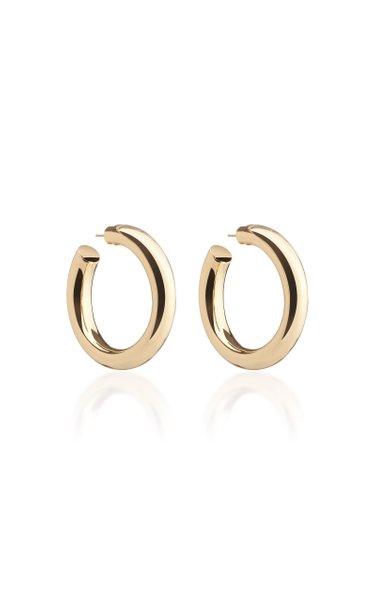 Baby Jamma 14K Gold-Plated Hoop Earrings