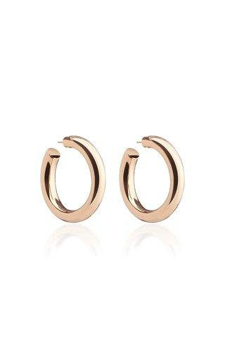 Baby Jamma 14K Rose Gold-Plated Hoop Earrings