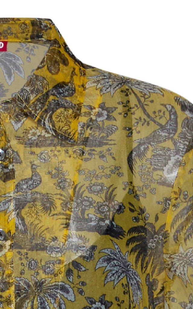 Frank Printed Crepe Dress