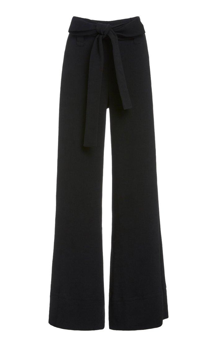 Bernard Plissé Wide-Leg Pants