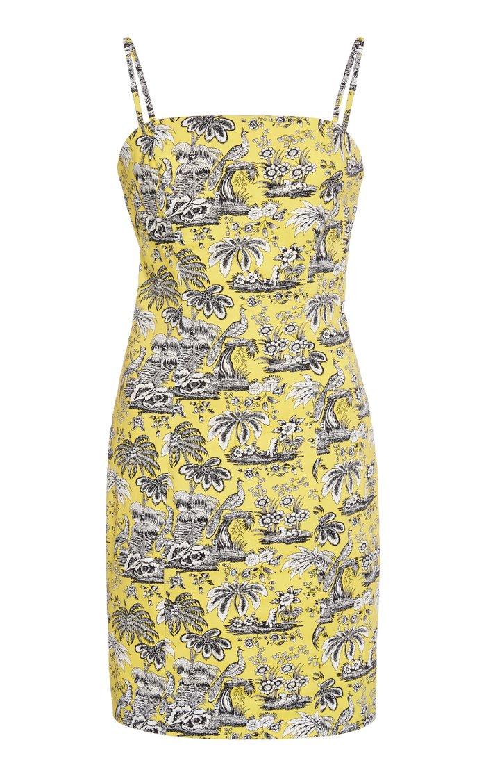 Basset Printed Poplin Dress