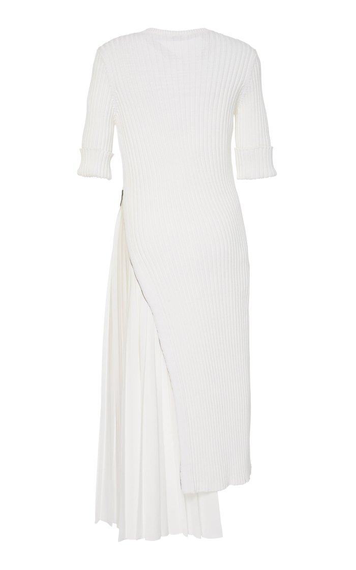 Candida Asymmetrical Knit Dress