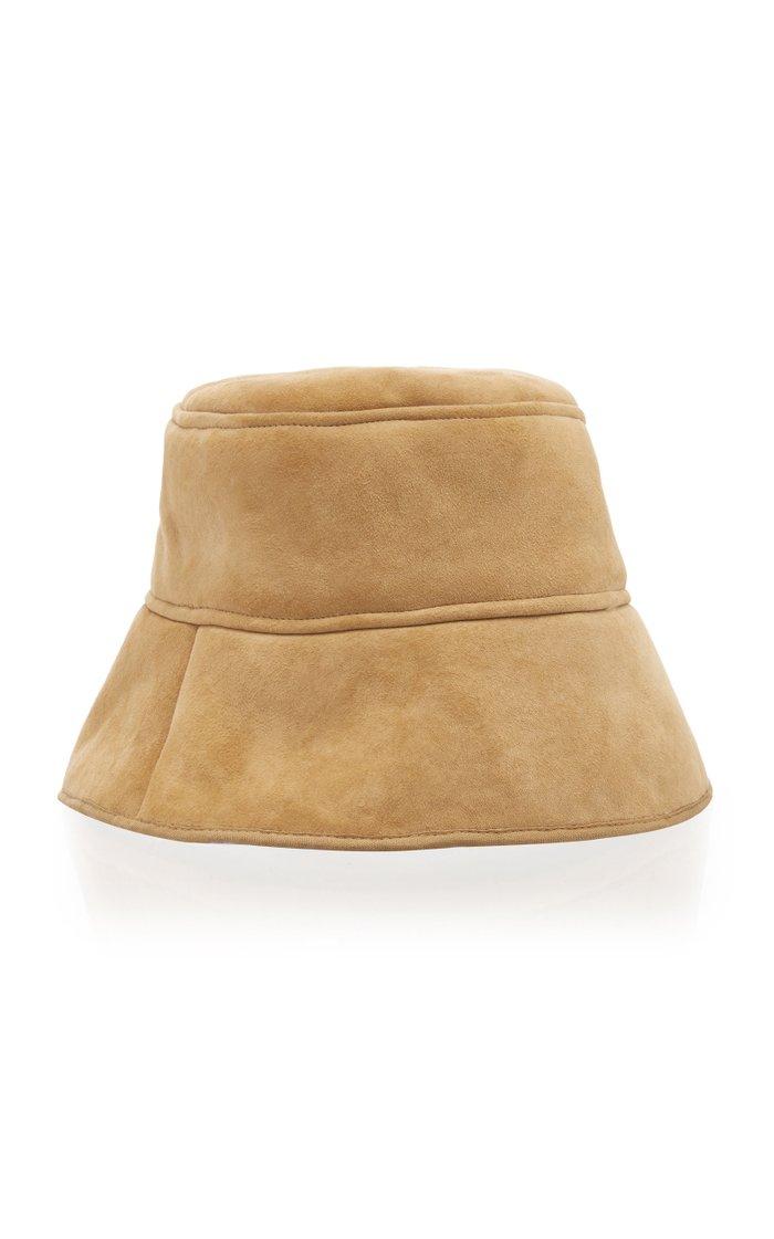 Reversible Shearling Bucket Hat