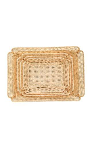 Set-of-5 Raffia Nesting Baskets