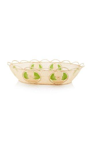 Oval Raffia Basket