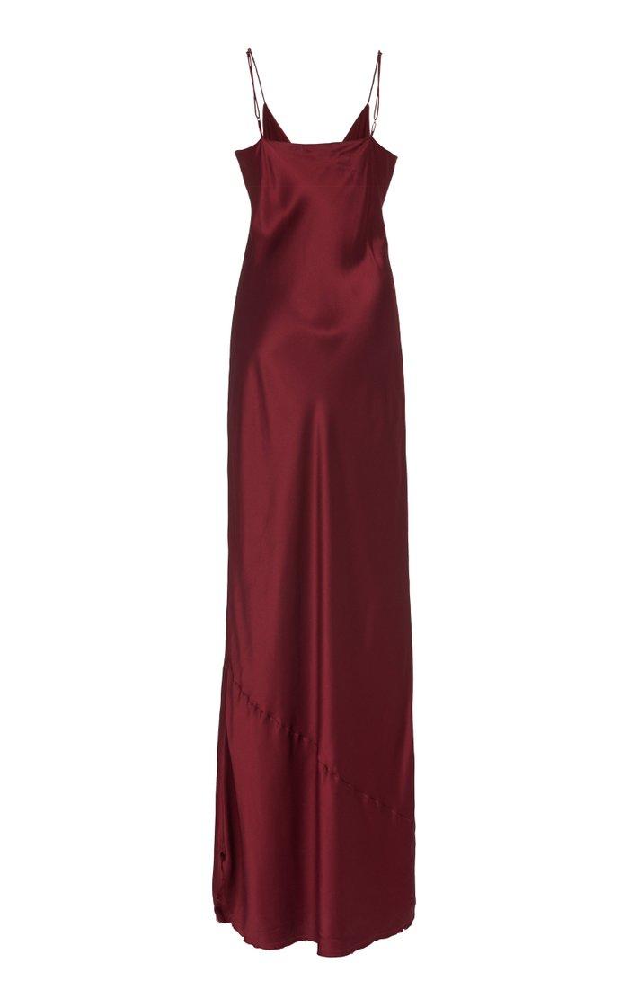 Cami Silk Maxi Dress