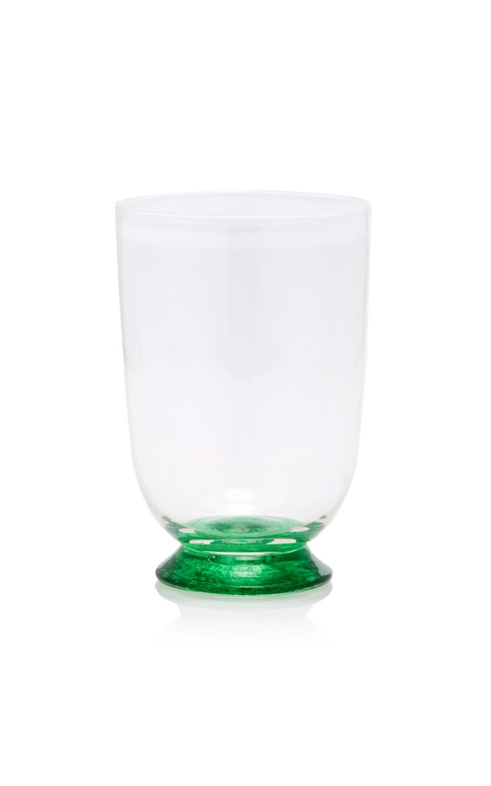 Footed Glass Tumbler