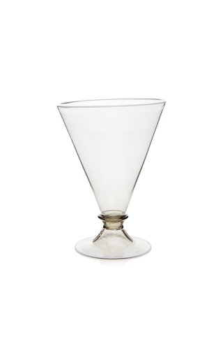 Footed Water Glass