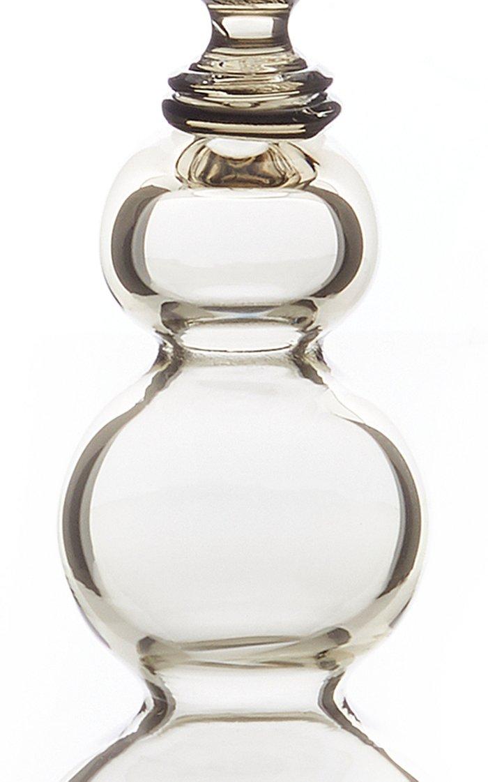 Tall Murano Glass Candlestick