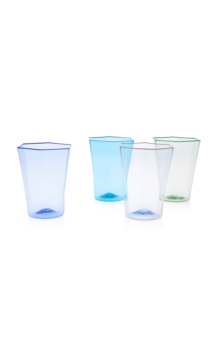 Set-Of-Four Glass Tumblers