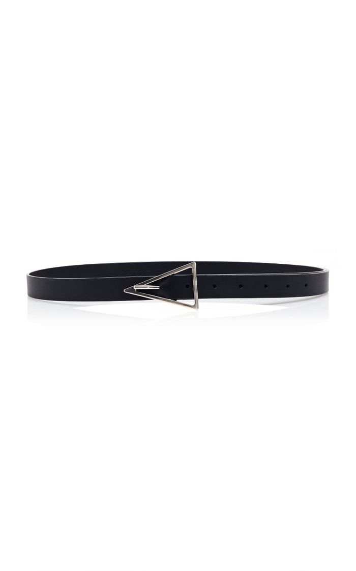 Skinny Calf Leather Belt