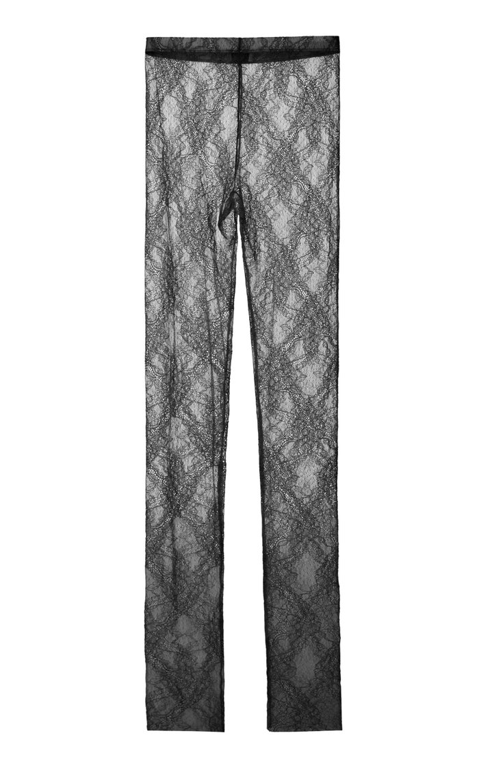 Stretch-Lace Leggings