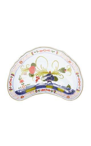 Set-of-Four Carnation Crescent Salad Plates