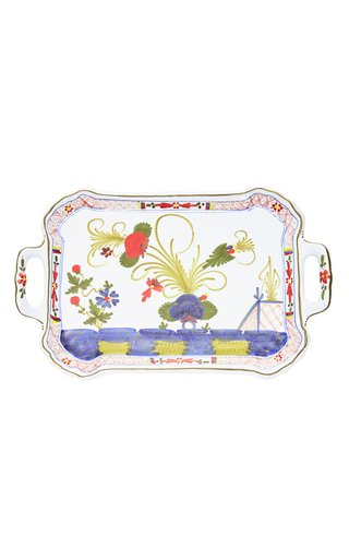 Carnation Porcelain Serving Tray