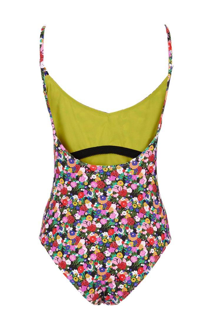 Amalfi One-Piece Maillot Swimsuit