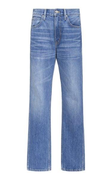 Virginia Rigid High-Rise Straight-Leg Jeans