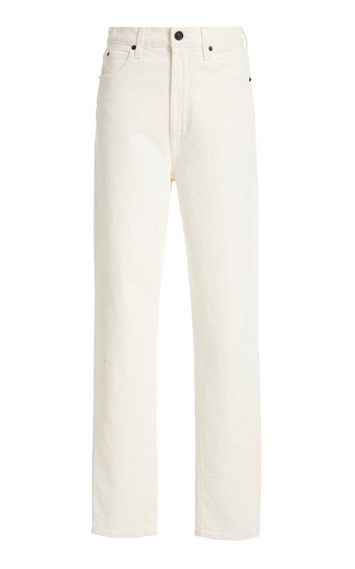Beatnik Rigid High-Rise Slim-Leg Jean