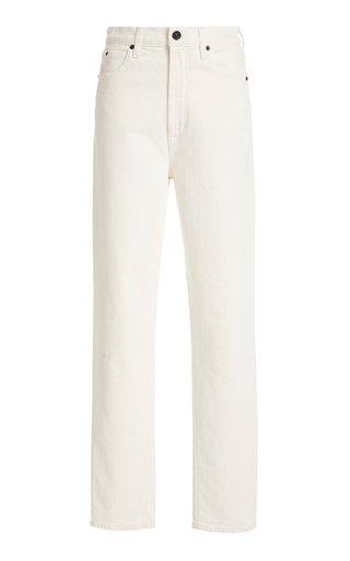 Beatnik Rigid High-Rise Slim-Leg Jean