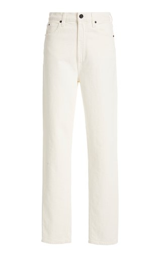 Beatnik Stretch High-Rise Slim-Leg Jeans