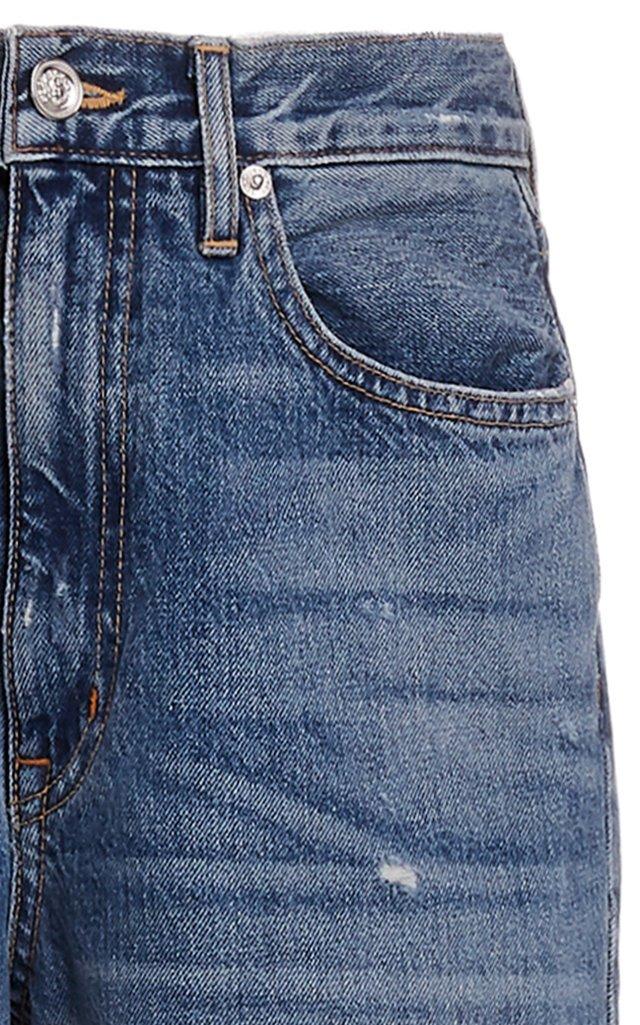 Grace Rigid High-Rise Wide-Leg Jeans