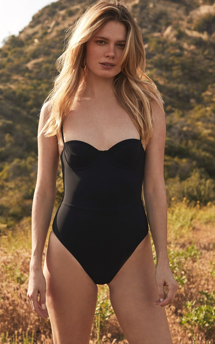 Balconette One-Piece Swimsuit