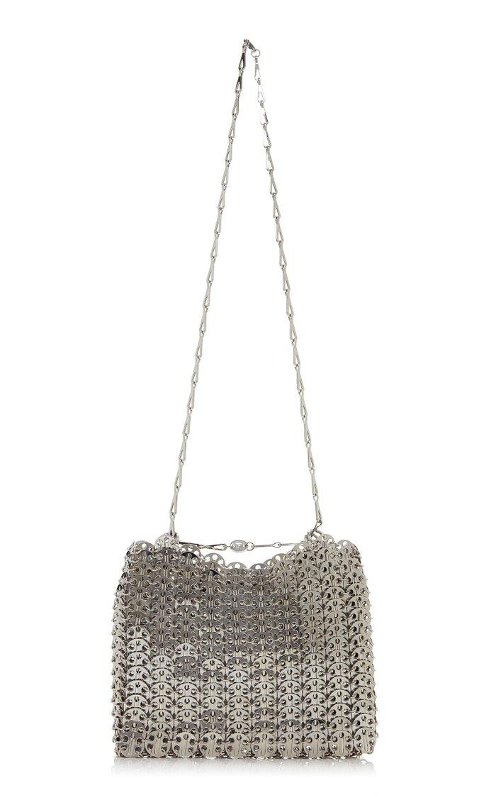 1969 Silver-Tone Chainmail Bag