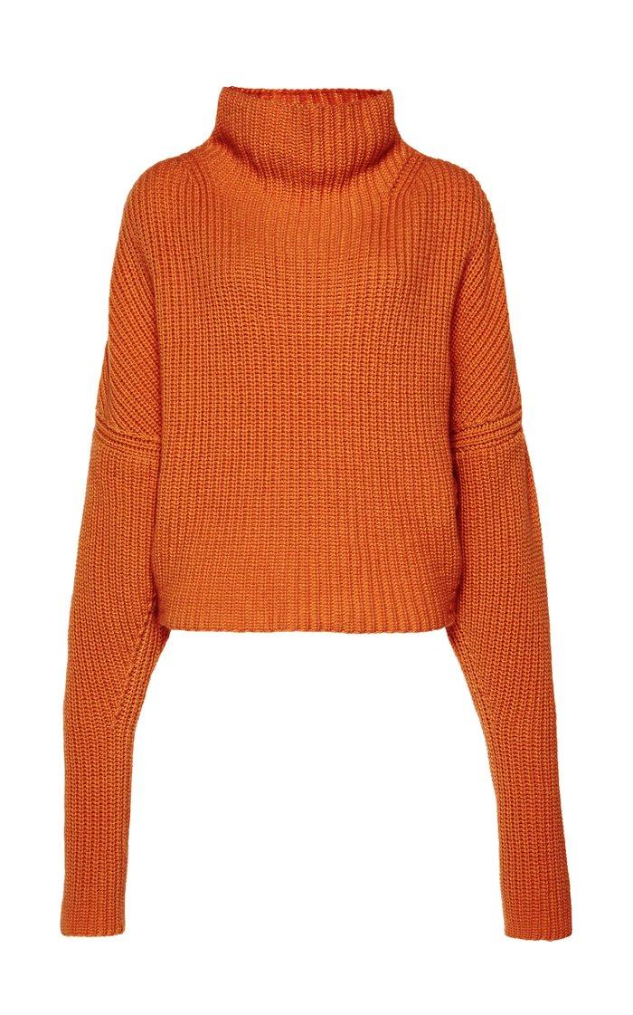 Kate Chunky Cashmere Turtleneck Sweater