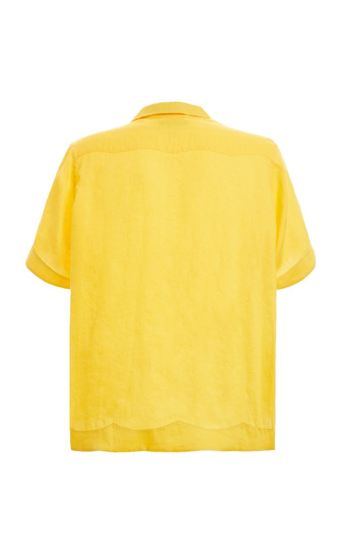 Linen Guayabera Shirt