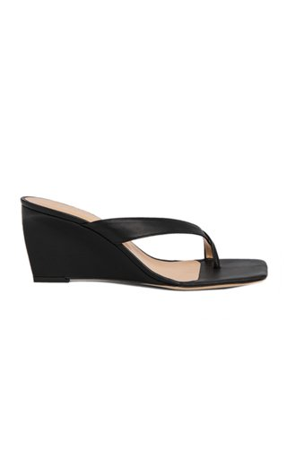 Theresa Grosgrain Wedge Sandals