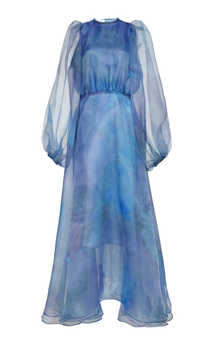 Cézanne Cloud Tulle Midi Dress