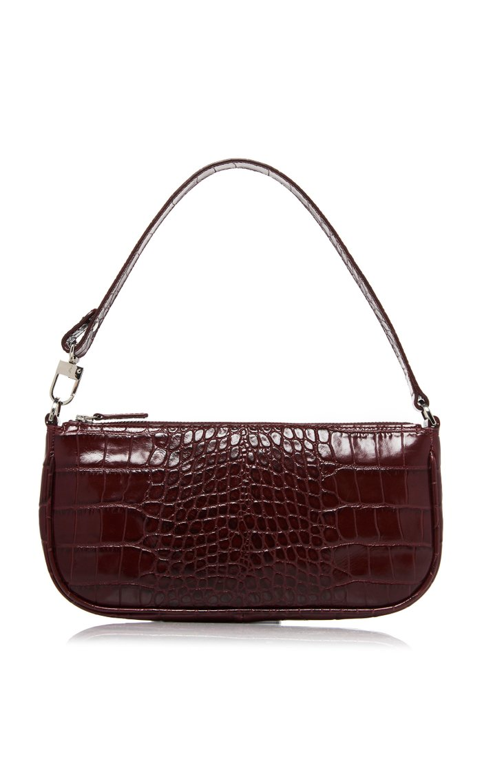 Rachel Croc-Effect Leather Bag