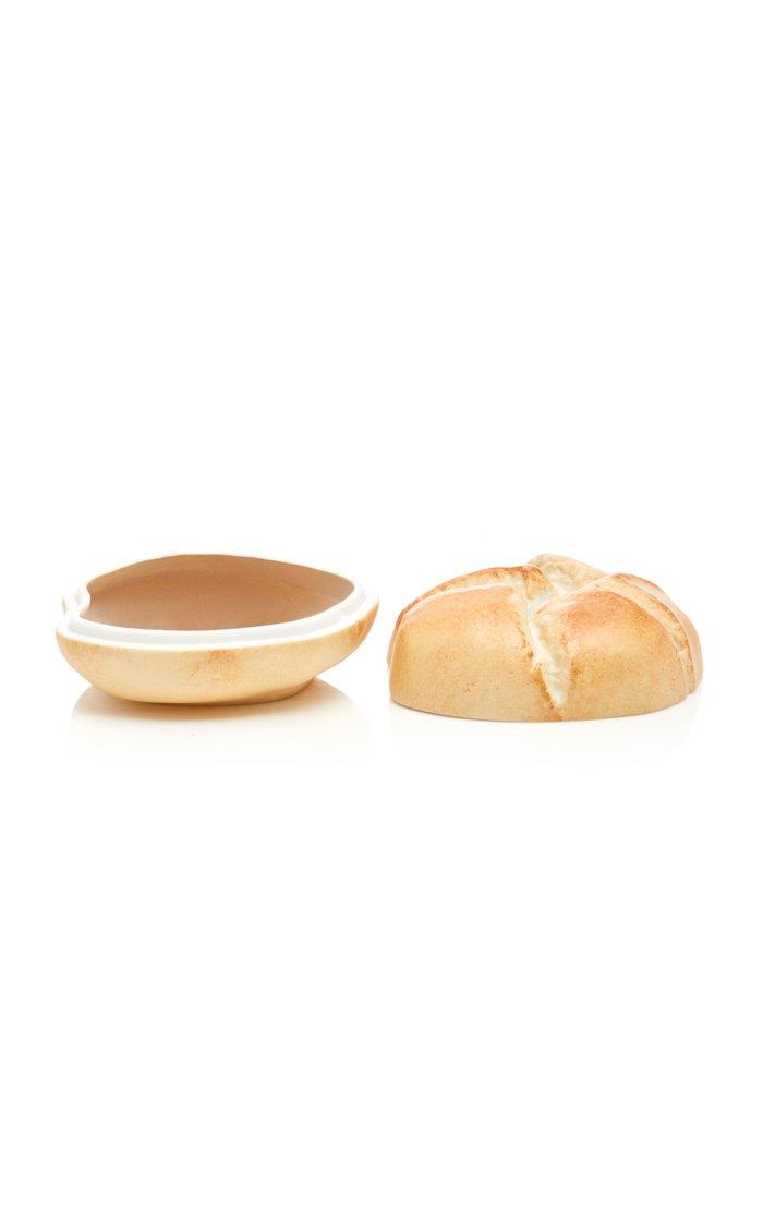 Bread Roll Porcelain Box