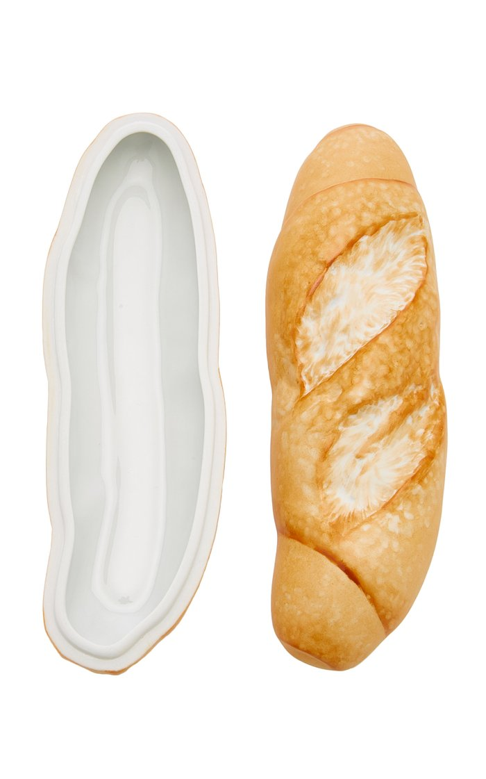 French Baguette Porcelain Box