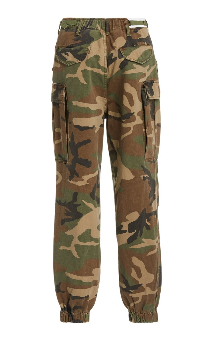 Camouflage Cotton Joggers