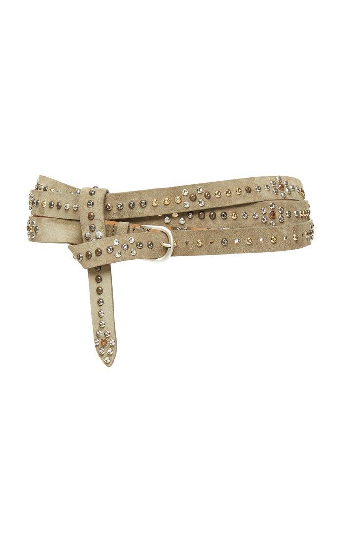 Djelvis Studded Leather Belt