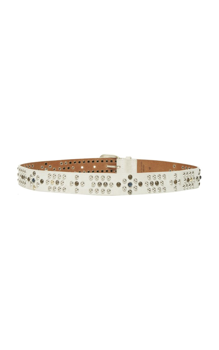 Devis Studded Leather Belt