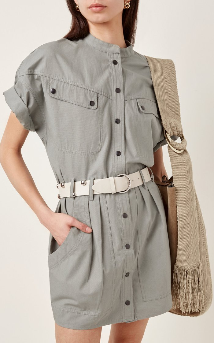 Goby Studded Leather Belt