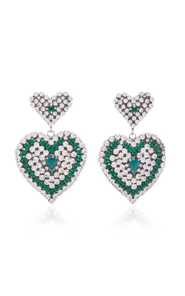 Amo Heart Drop Earrings