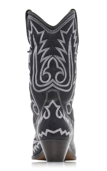 Duerto Embroidered Leather Boots