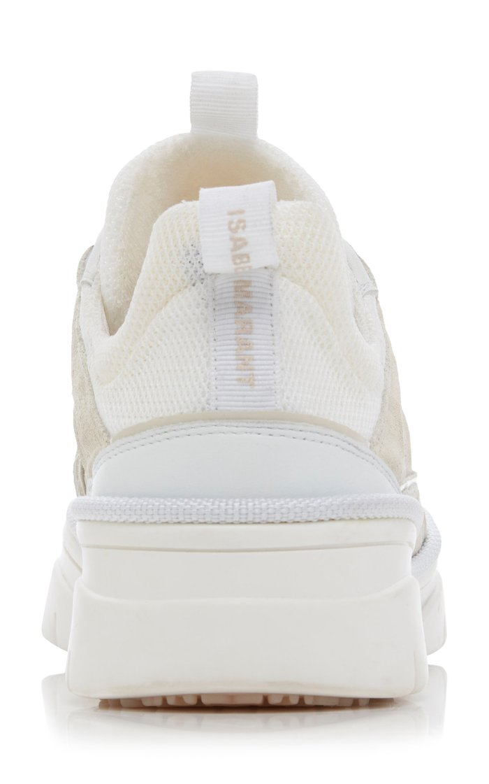 Kindsay Leather And Mesh Sneakers