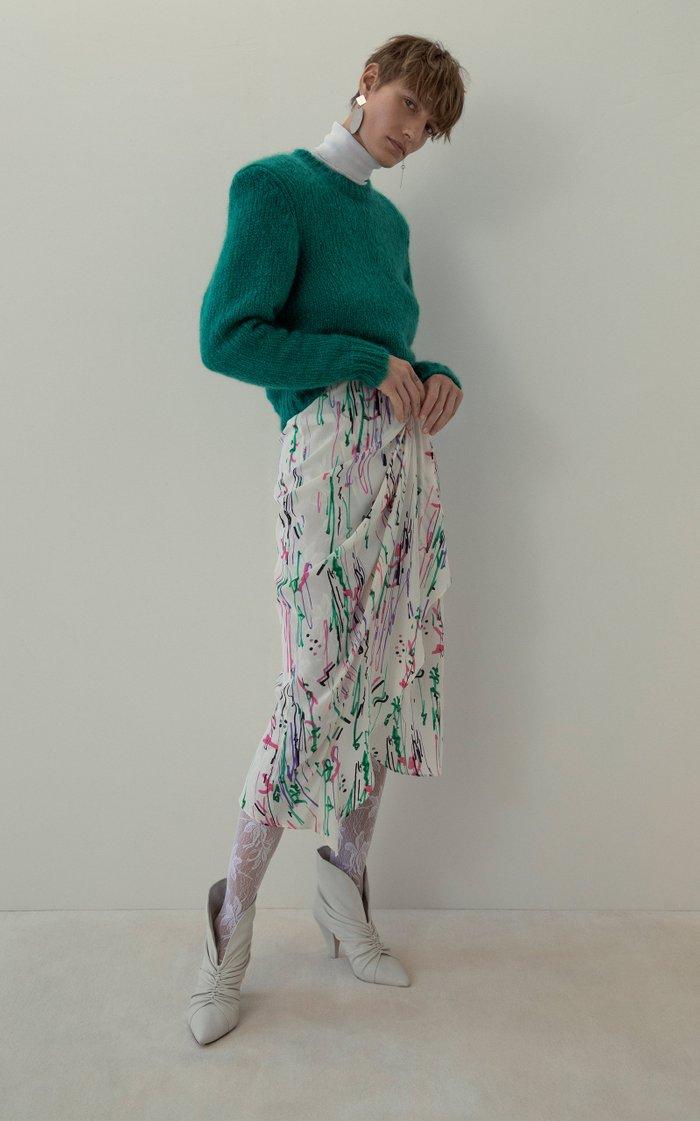 Azale Cotton-Blend Turtleneck Sweater